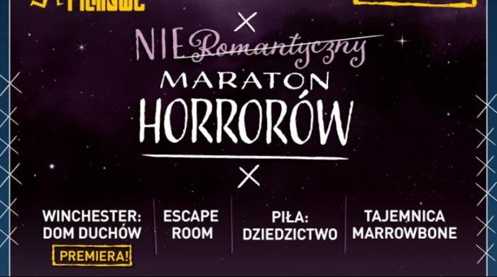 Nieromantyczny Maraton Horrorów 16 lutego w kinach sieci Helios