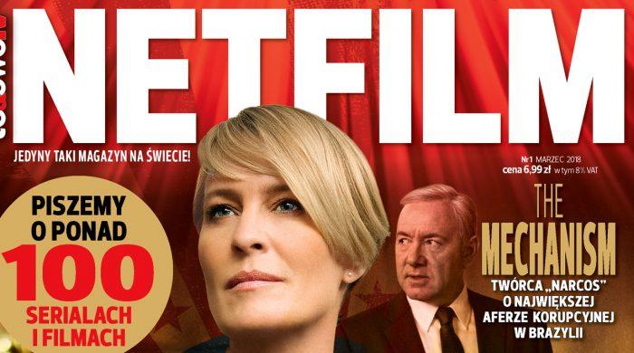 """6 marca rusza nowy magazyn """"Netfilm"""". Targetem widzowie platform VOD"""