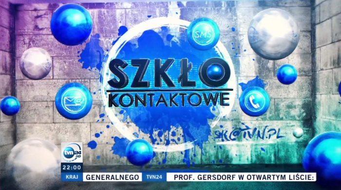 """""""Szkło Kontaktowe"""" TVN24 w nowej odsłonie"""