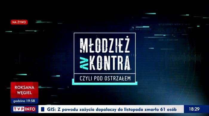 """""""Młodzież kontra"""" znika z anteny TVP Info"""
