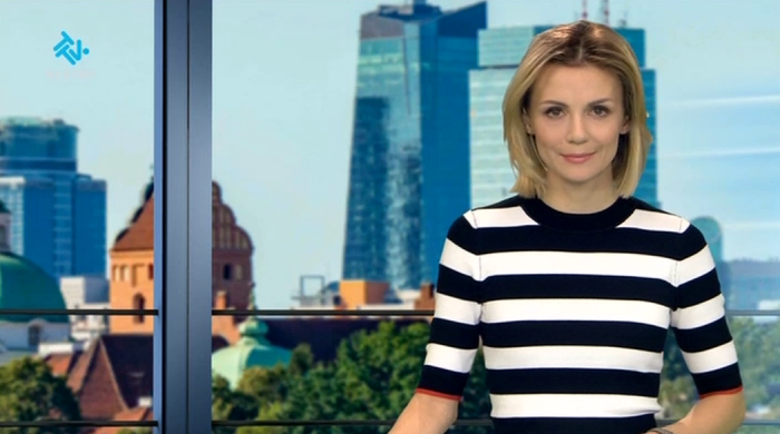 "Joanna Dunikowska-Paź prowadzącą ""Express"" TTV"