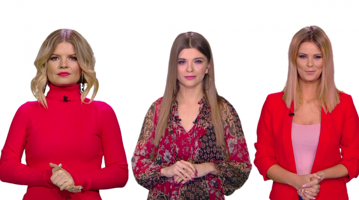 Manowska, Dziekan i Tomaszewska spikerkami TVP